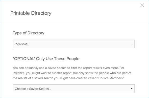 printable directory